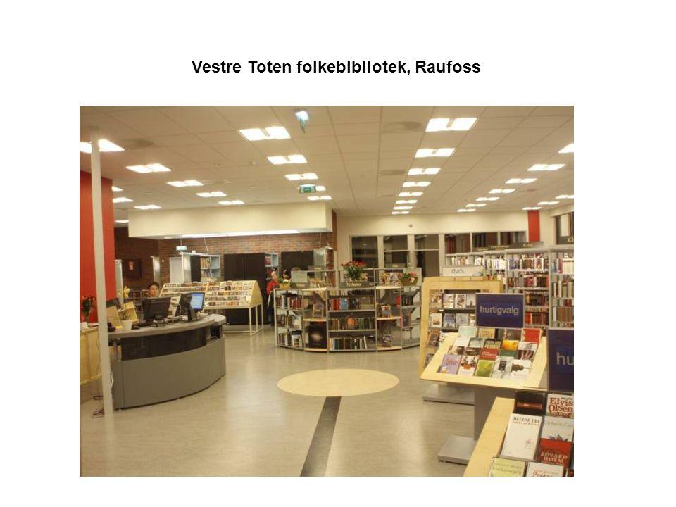 Vestre Toten folkebibliotek, Raufoss