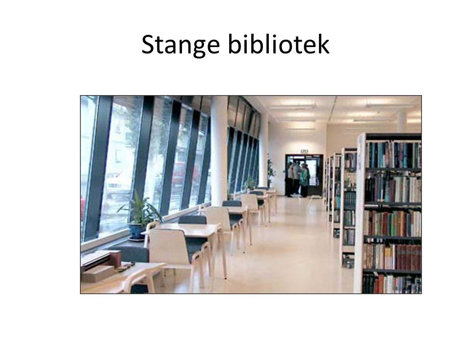 Stange bibliotek