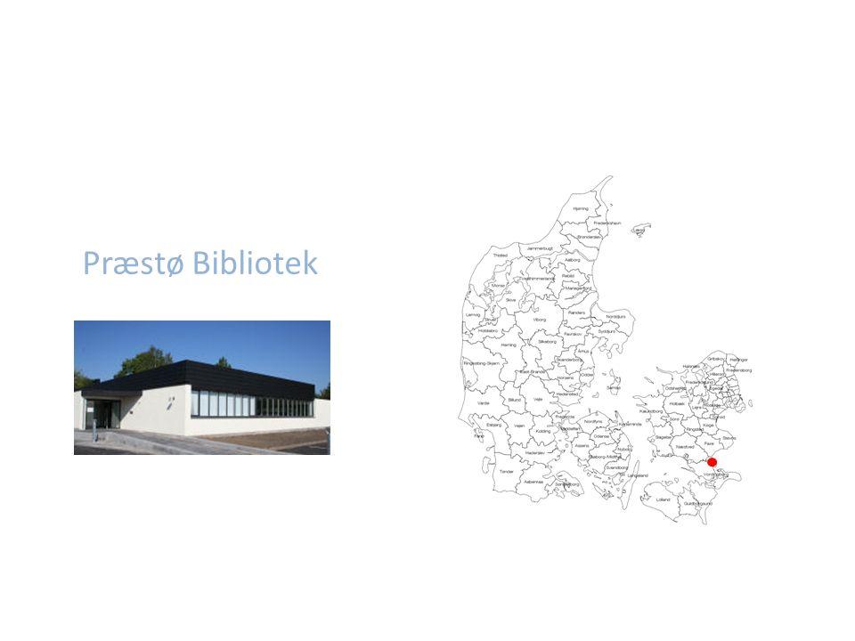 Præstø Bibliotek Eksisterende bibliotek – ønsket ny innredning