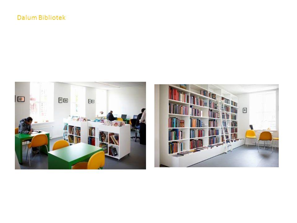 Dalum Bibliotek Fra ungdomsavdelingen
