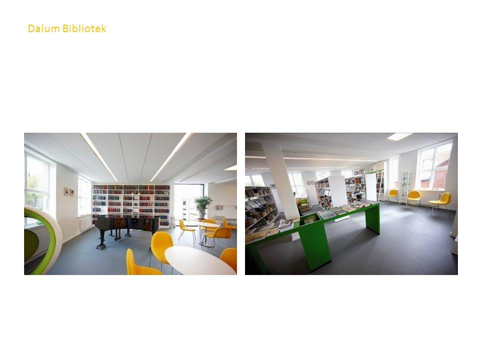 Dalum Bibliotek Film og musikk og tidskrifter med leseplasser