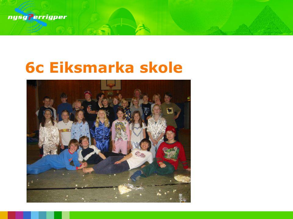 6c Eiksmarka skole