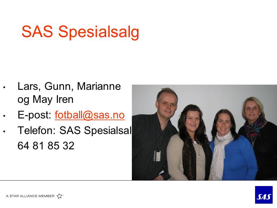 SAS Spesialsalg Lars, Gunn, Marianne og May Iren