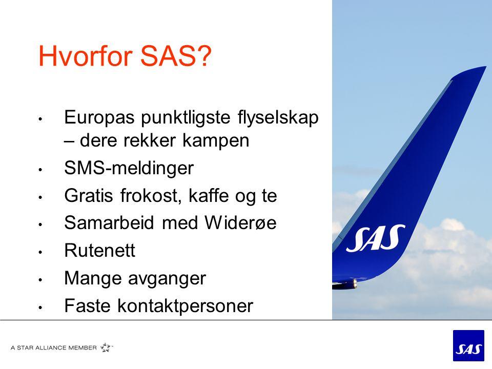 Hvorfor SAS Europas punktligste flyselskap – dere rekker kampen