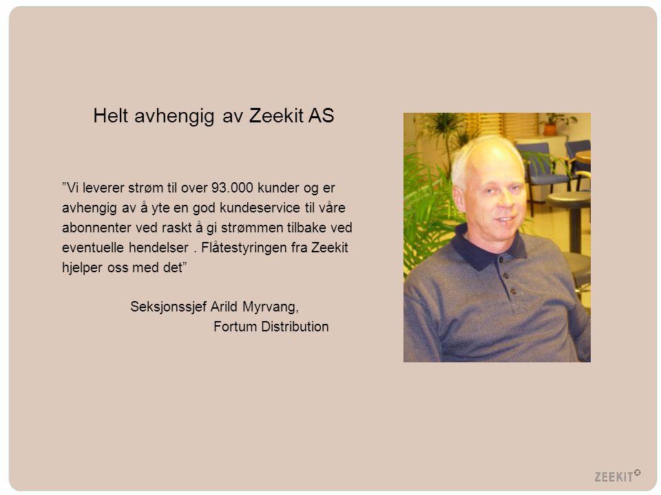 Helt avhengig av Zeekit AS
