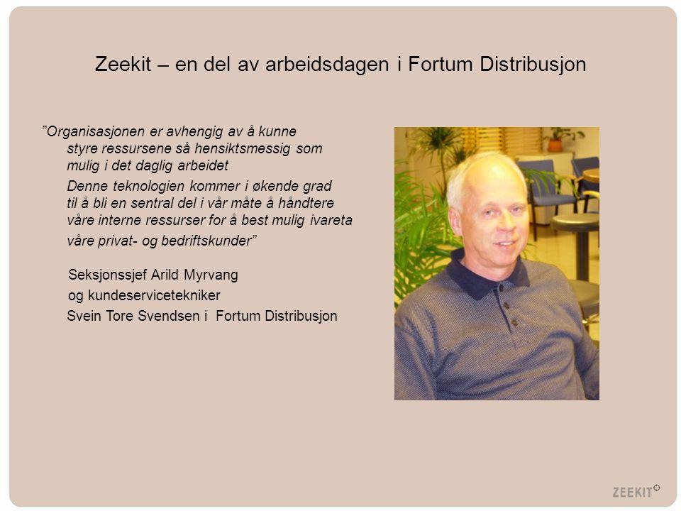 Zeekit – en del av arbeidsdagen i Fortum Distribusjon