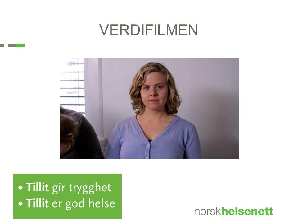 VERDIFILMEN - Er pasientens stemme Programmet er bygget på 5 filmer