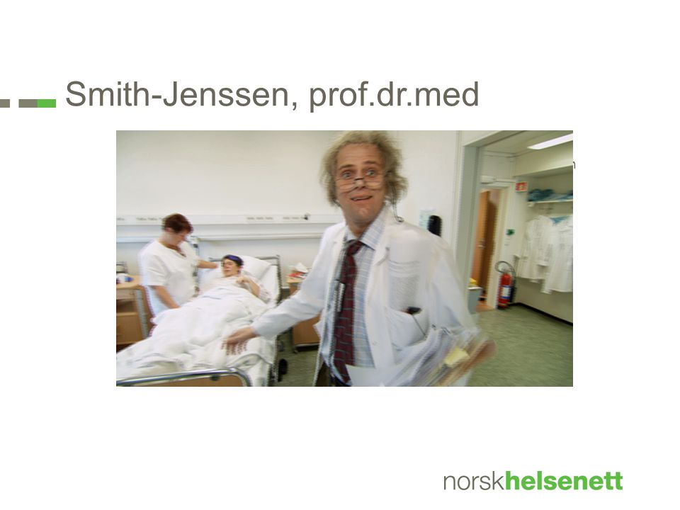 Smith-Jenssen, prof.dr.med