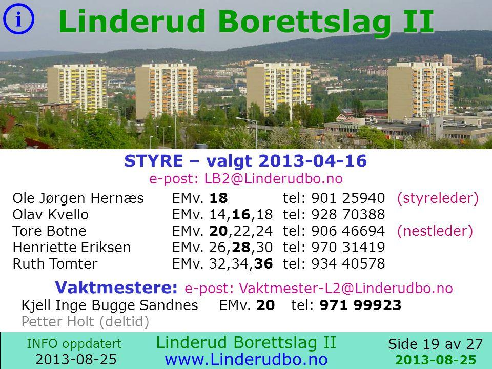 Linderud Borettslag II