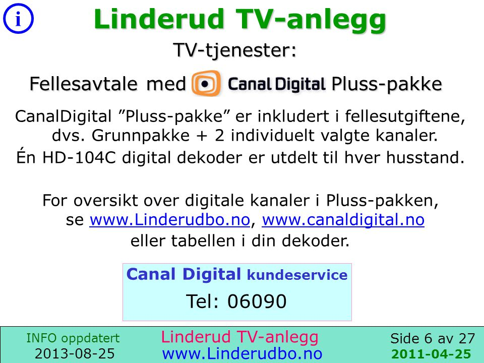 Canal Digital kundeservice