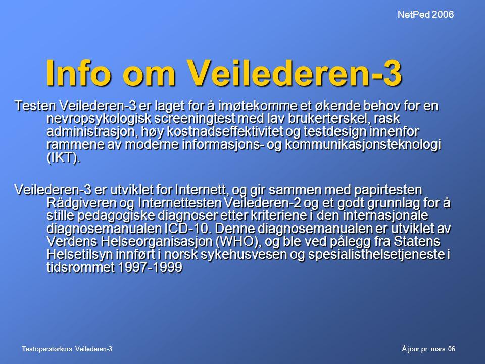 NetPed 2006 Info om Veilederen-3.