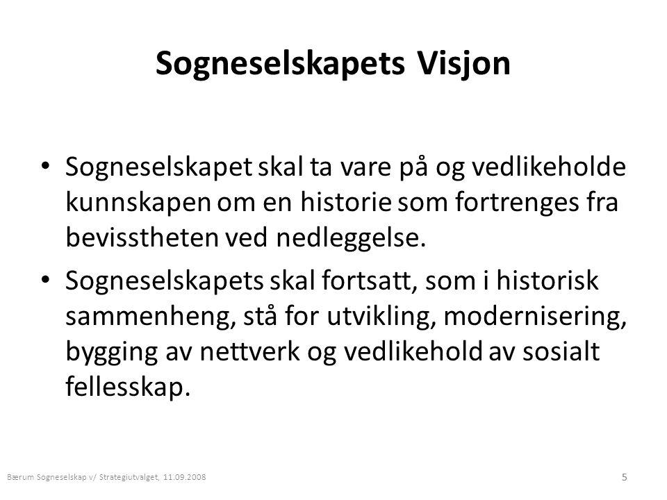 Sogneselskapets Visjon