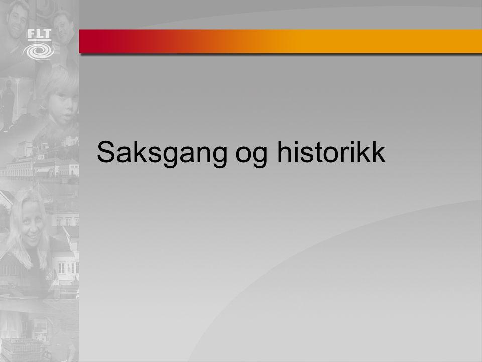 Saksgang og historikk