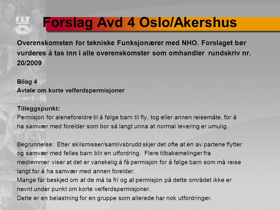 Forslag Avd 4 Oslo/Akershus