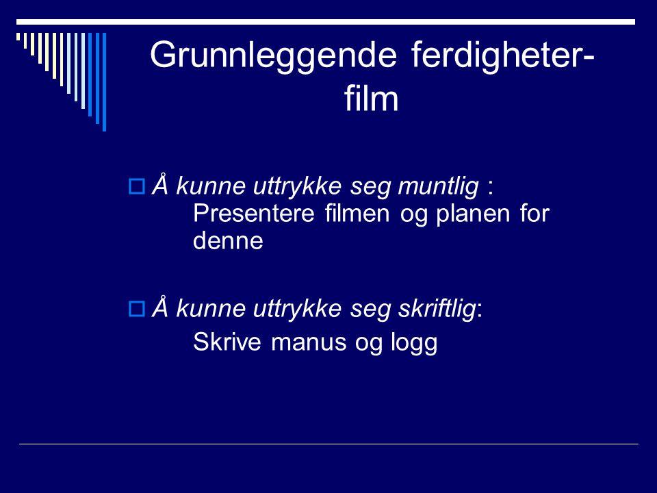 Grunnleggende ferdigheter-film