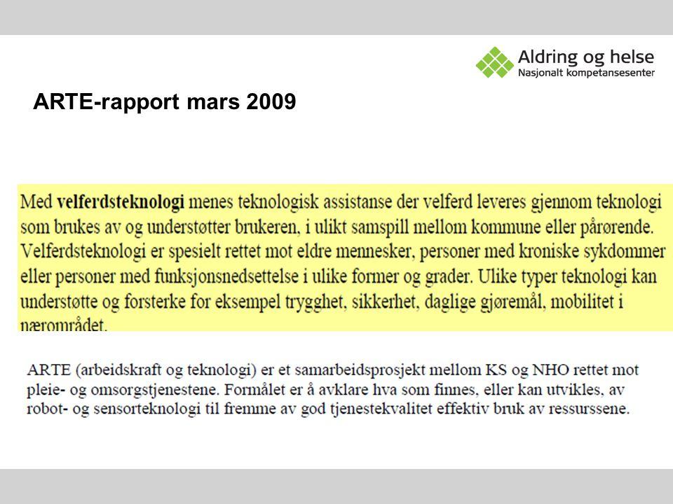 ARTE-rapport mars 2009