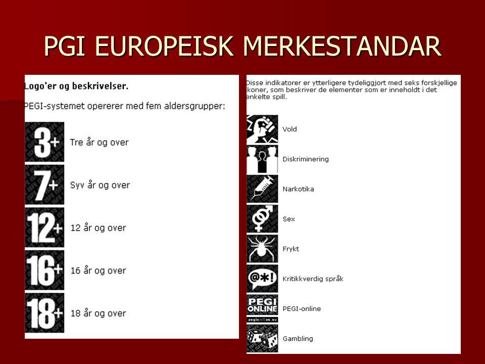 PGI EUROPEISK MERKESTANDAR