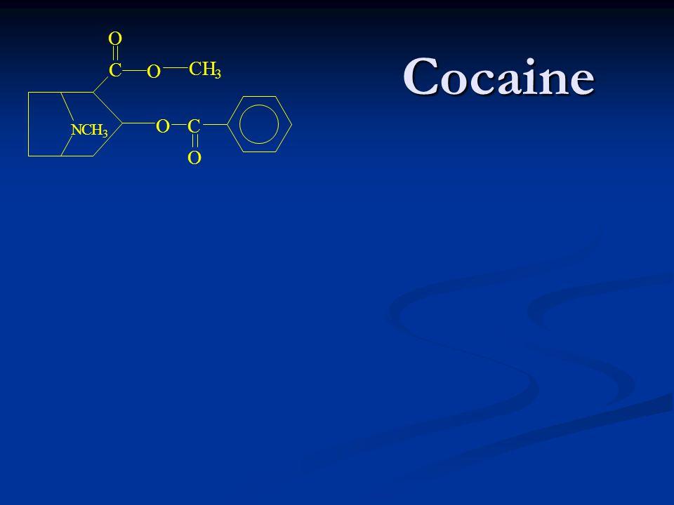C O N H 3 Cocaine