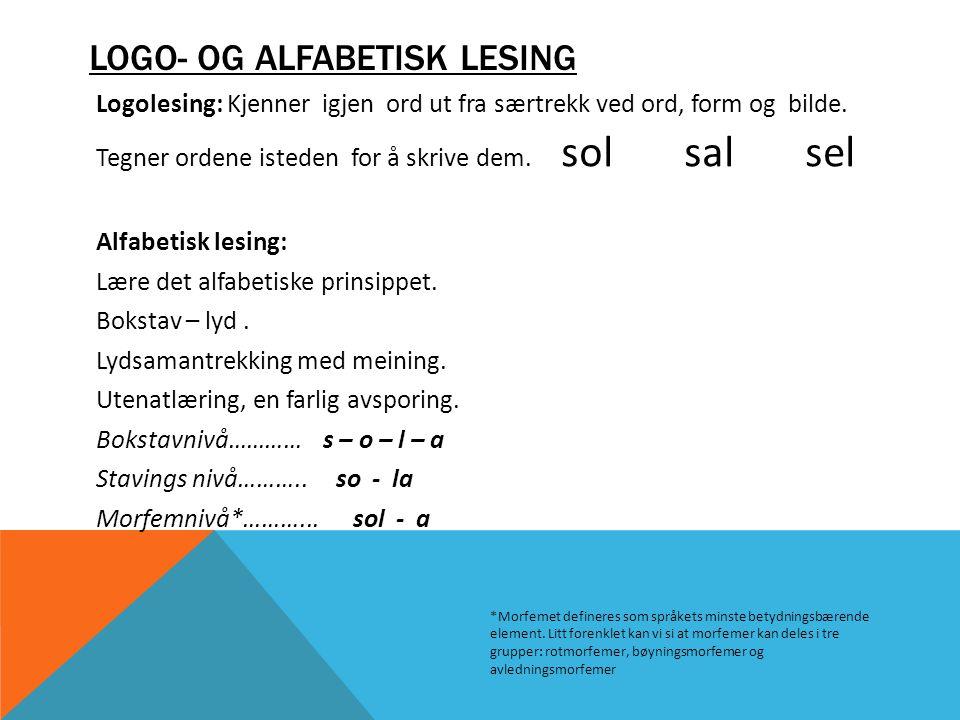 Logo- og alfabetisk lesing