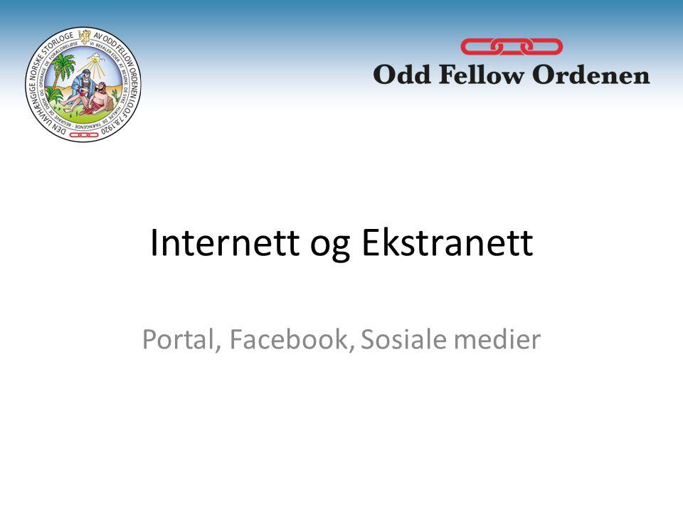 Internett og Ekstranett