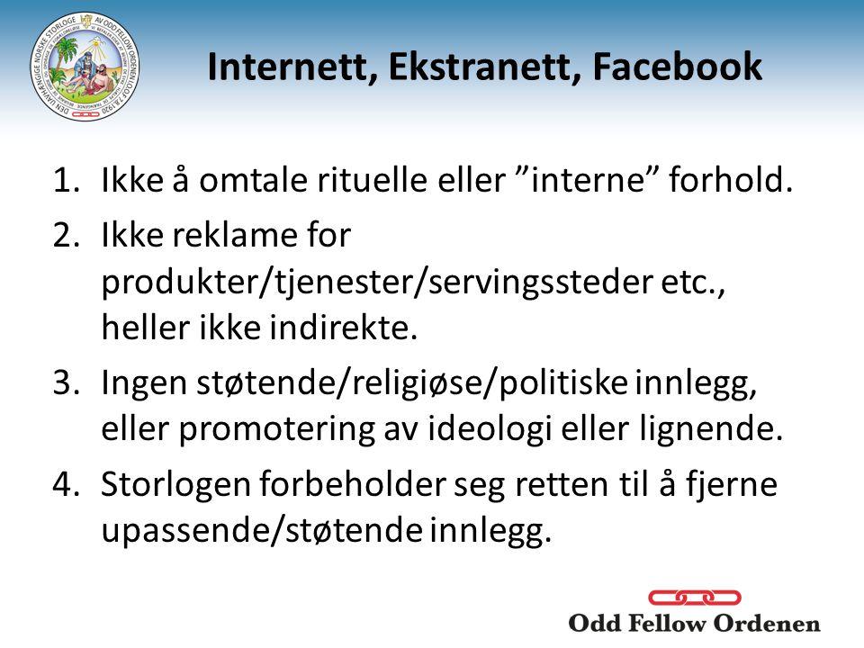 Internett, Ekstranett, Facebook