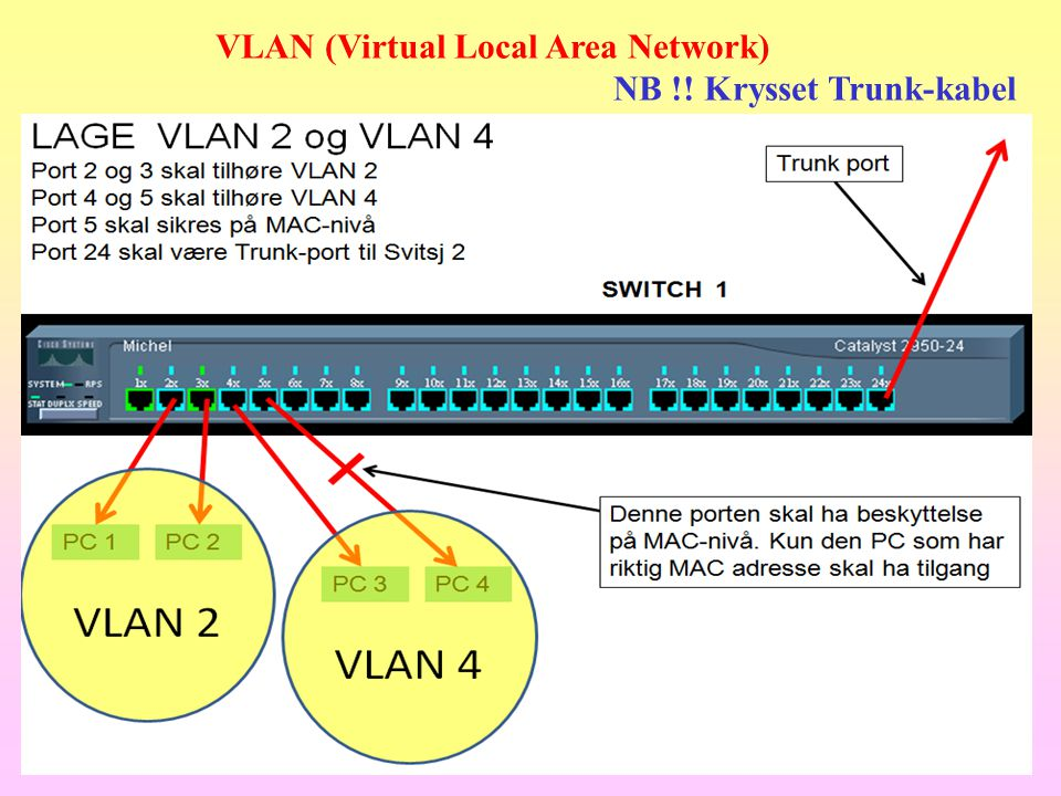 VLAN (Virtual Local Area Network)