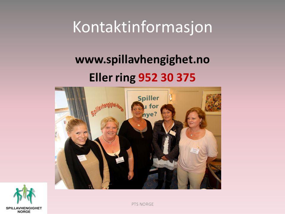 www.spillavhengighet.no Eller ring 952 30 375