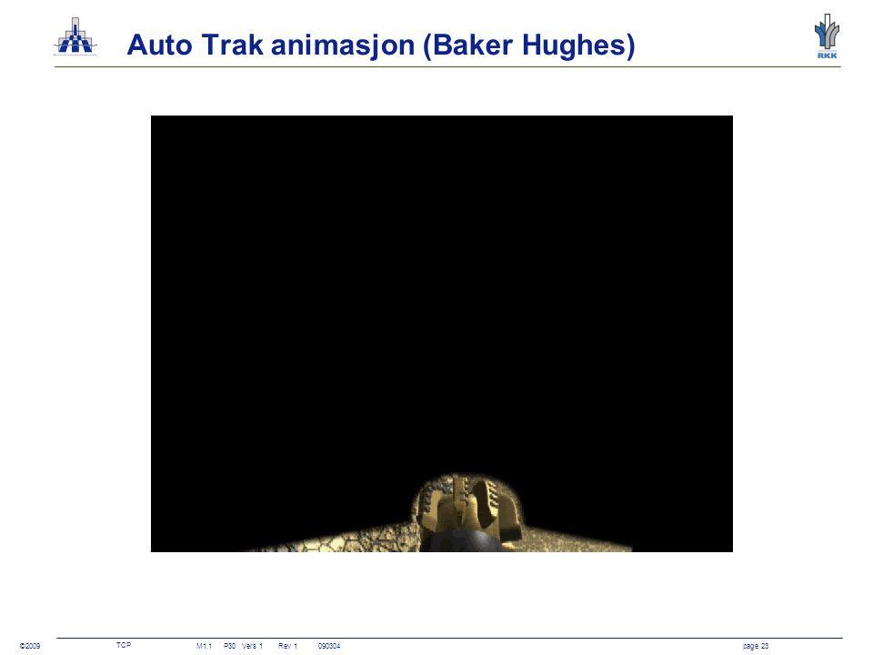 Auto Trak animasjon (Baker Hughes)
