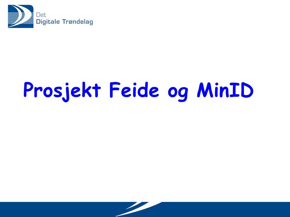 Prosjekt Feide og MinID