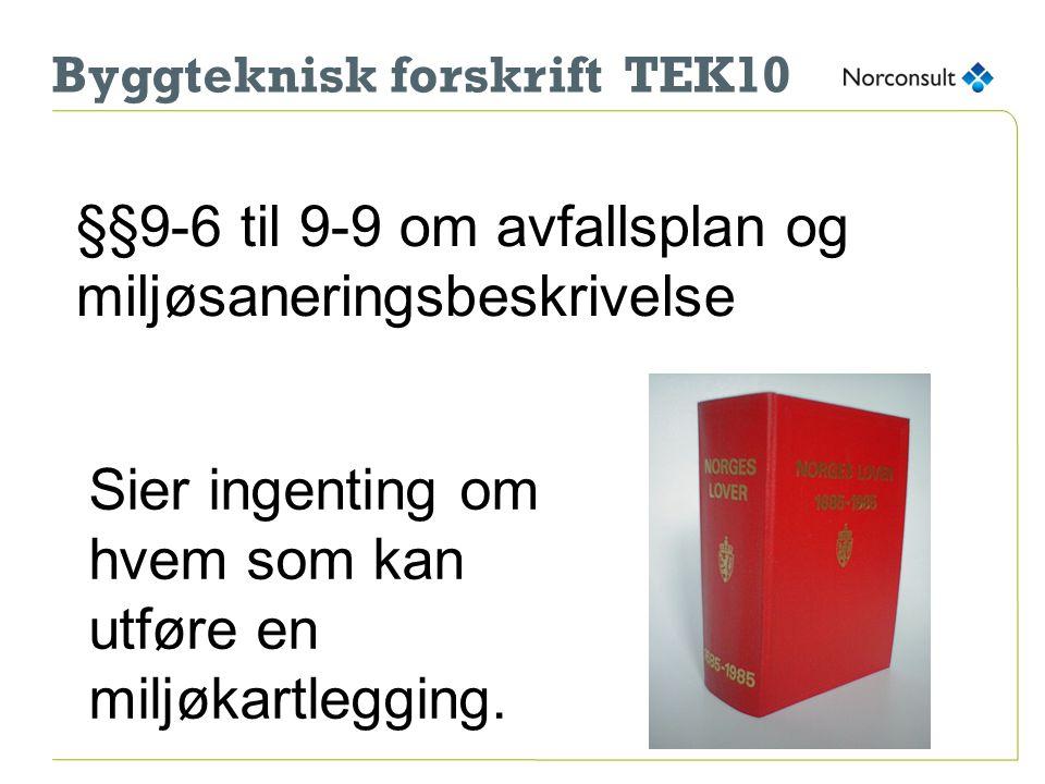 Byggteknisk forskrift TEK10
