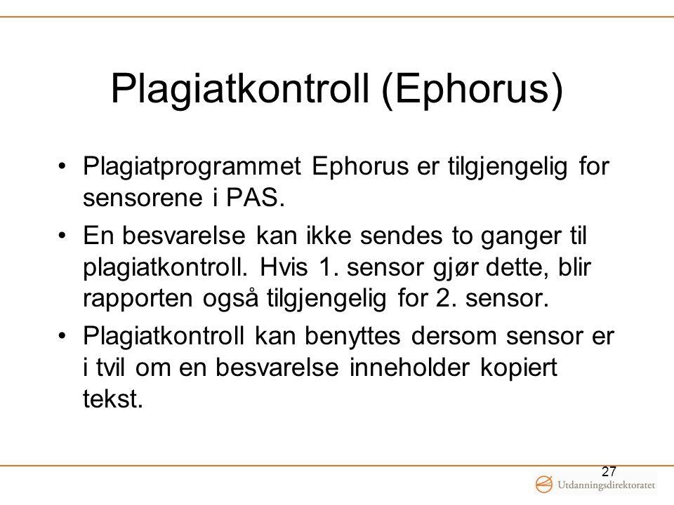 Plagiatkontroll (Ephorus)