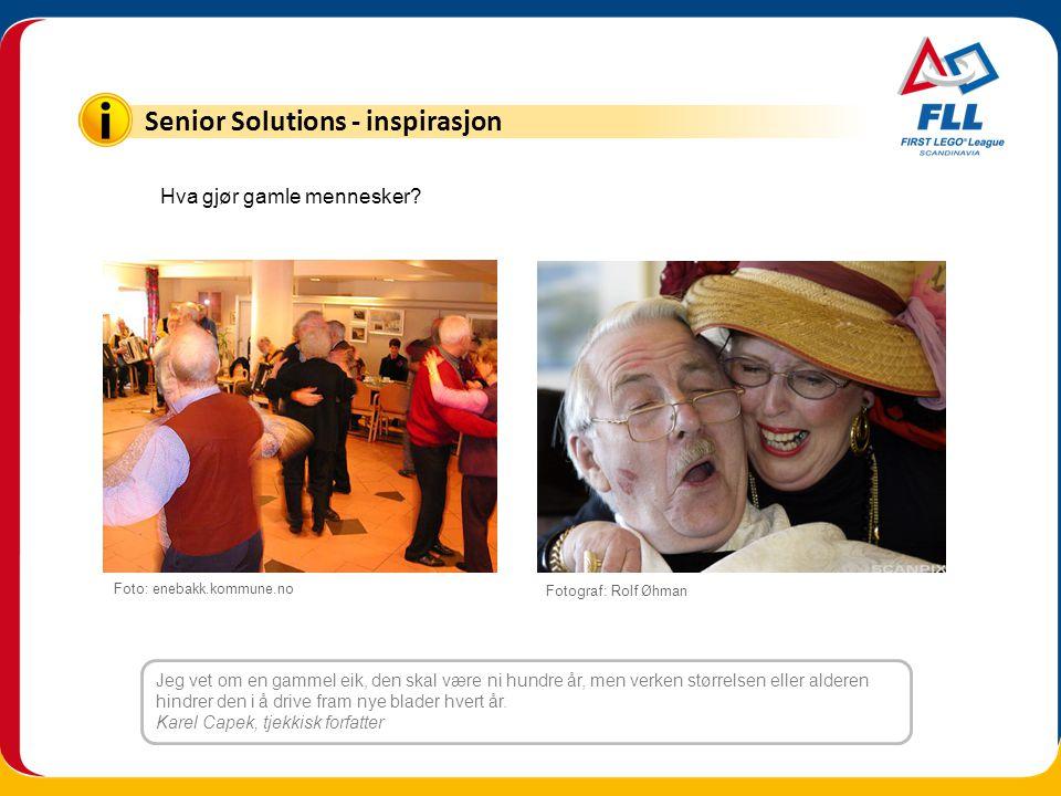 Senior Solutions - inspirasjon