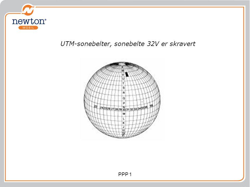 UTM-sonebelter, sonebelte 32V er skravert