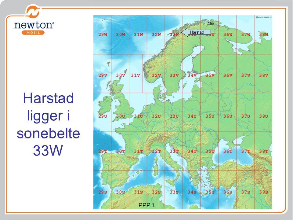 Harstad ligger i sonebelte 33W