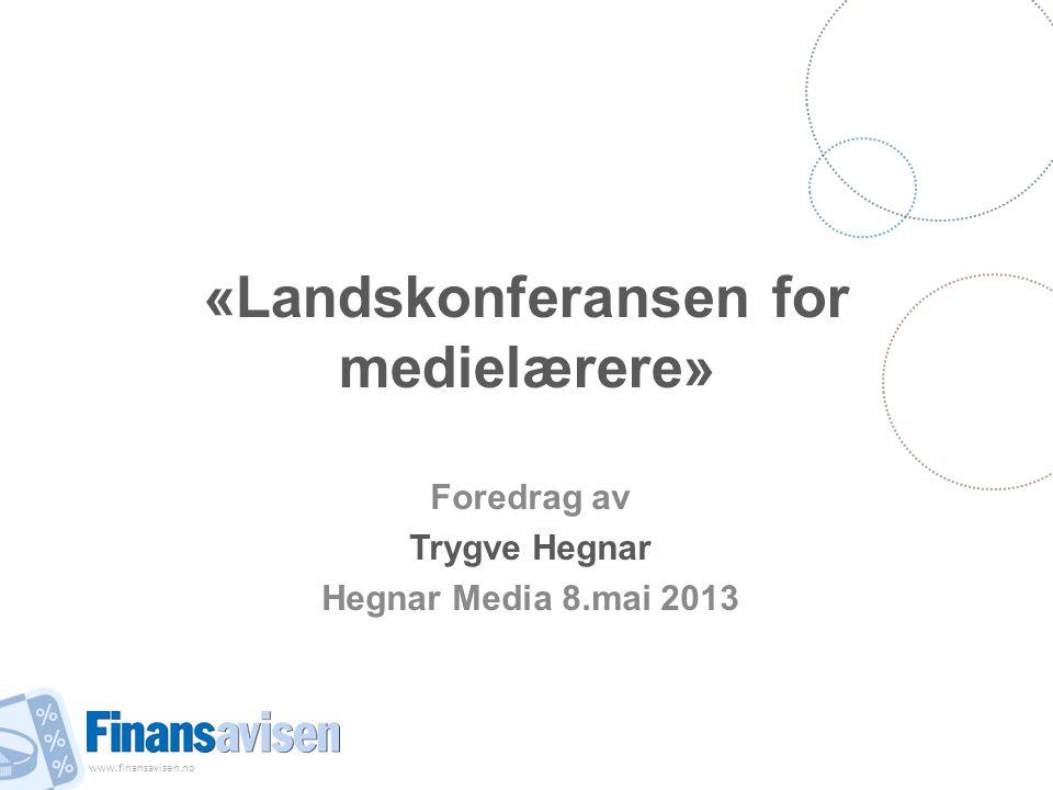«Landskonferansen for medielærere»
