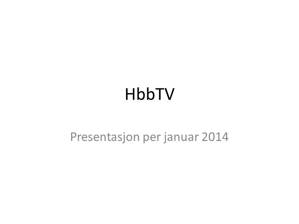Presentasjon per januar 2014