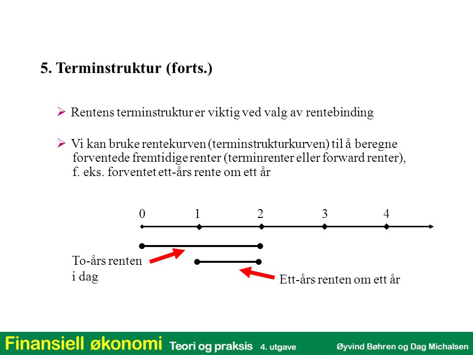 5. Terminstruktur (forts.)