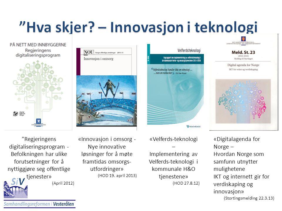 Hva skjer – Innovasjon i teknologi