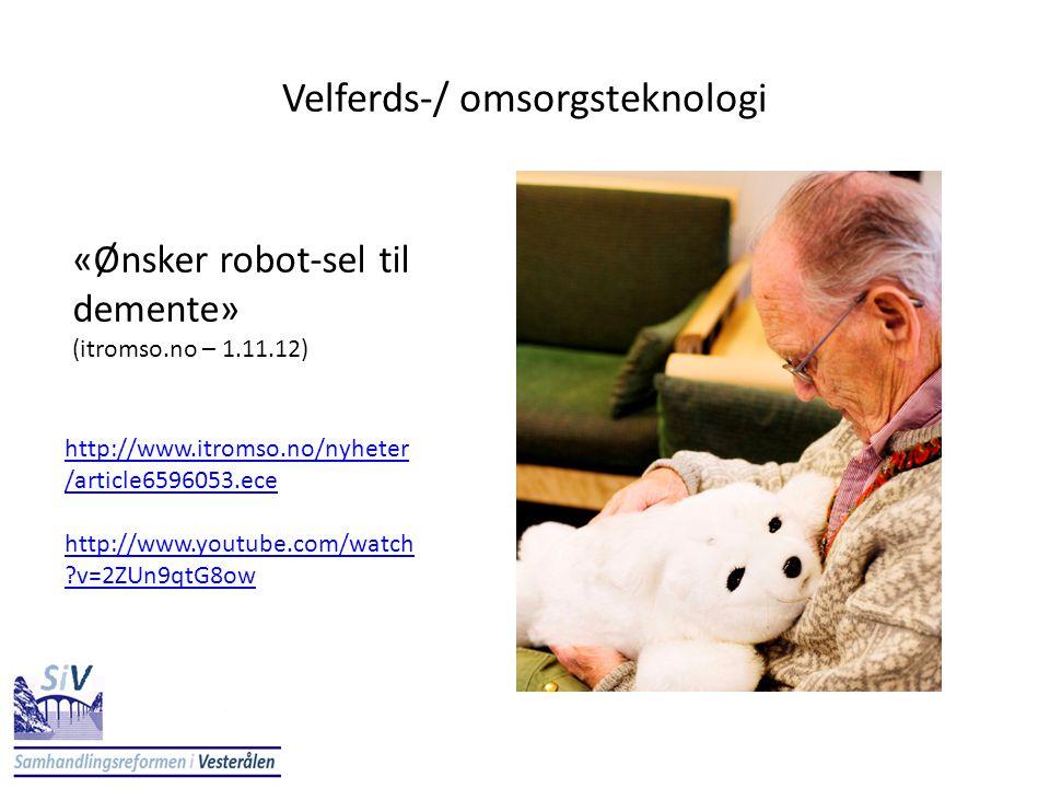 Velferds-/ omsorgsteknologi