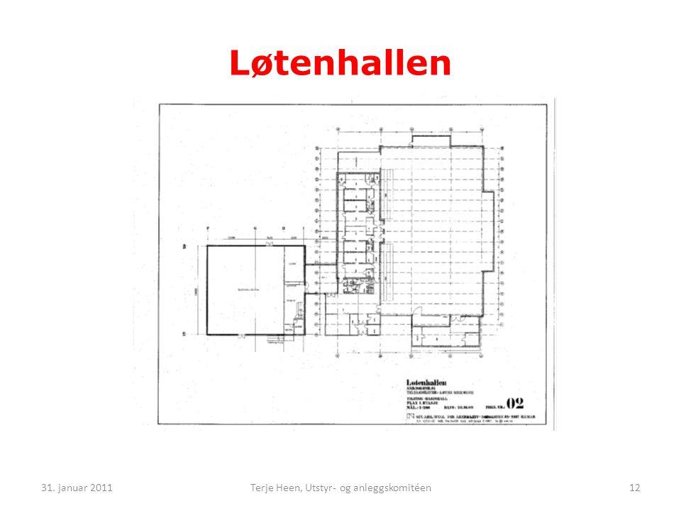 Terje Heen, Utstyr- og anleggskomitéen