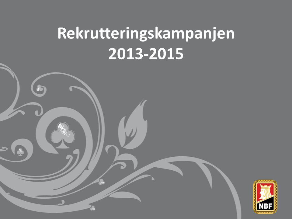 Rekrutteringskampanjen 2013-2015