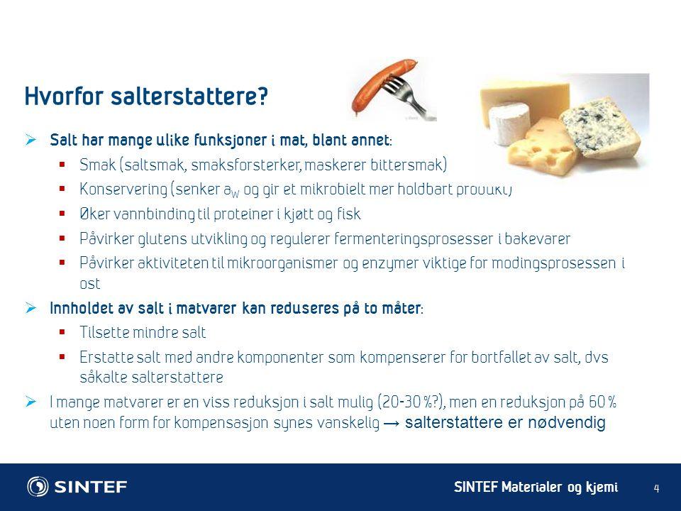 Hvorfor salterstattere