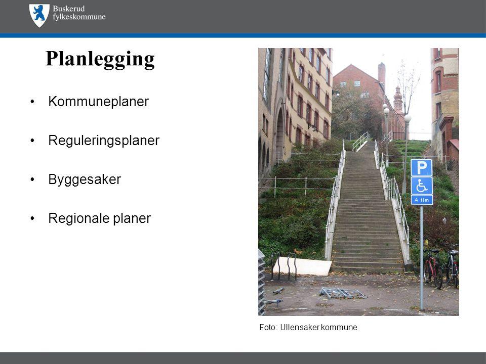 Planlegging Kommuneplaner Reguleringsplaner Byggesaker