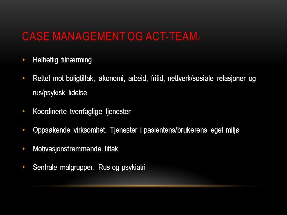 Case management og ACT-team2