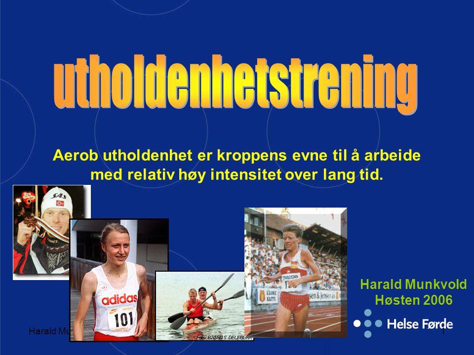 Harald Munkvold Høsten 2006