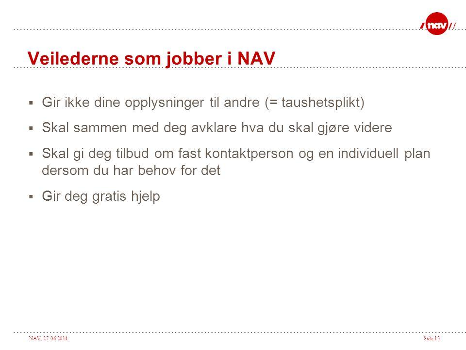 Veilederne som jobber i NAV