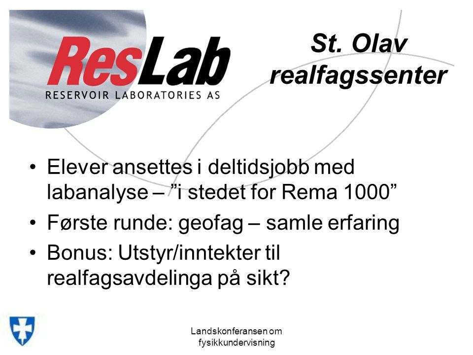 St. Olav realfagssenter