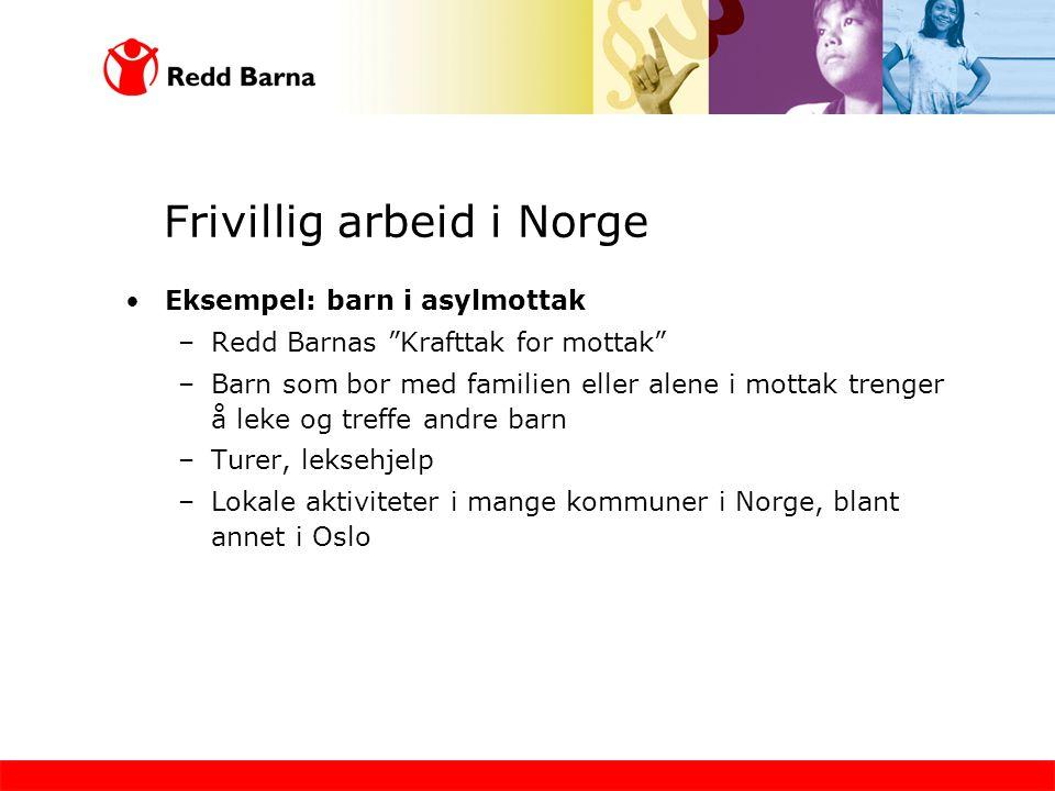 Frivillig arbeid i Norge