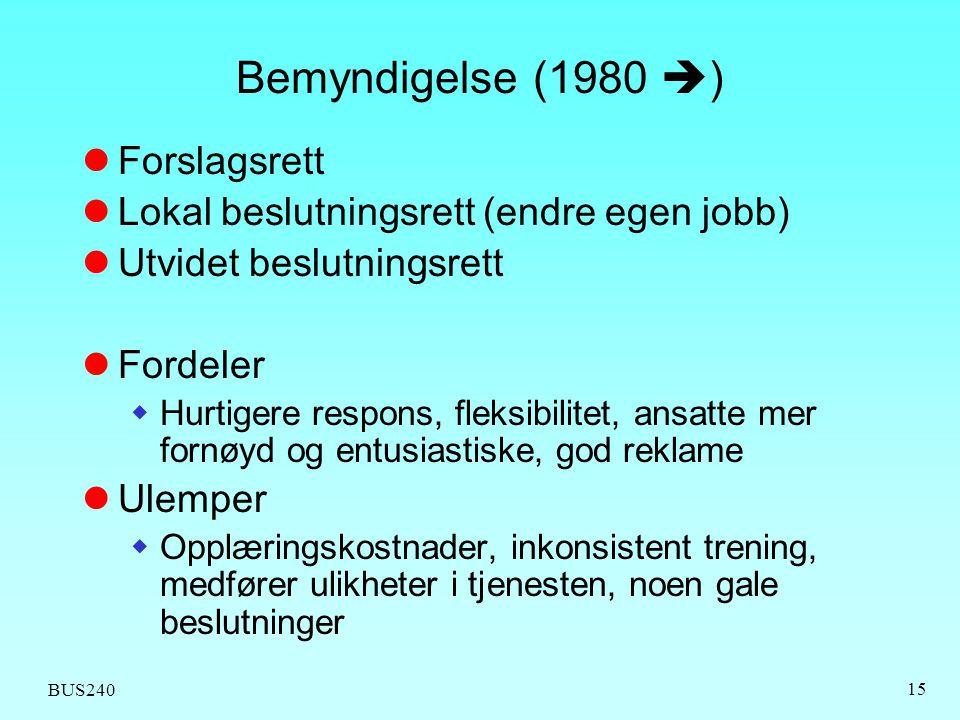 Bemyndigelse (1980 ) Forslagsrett