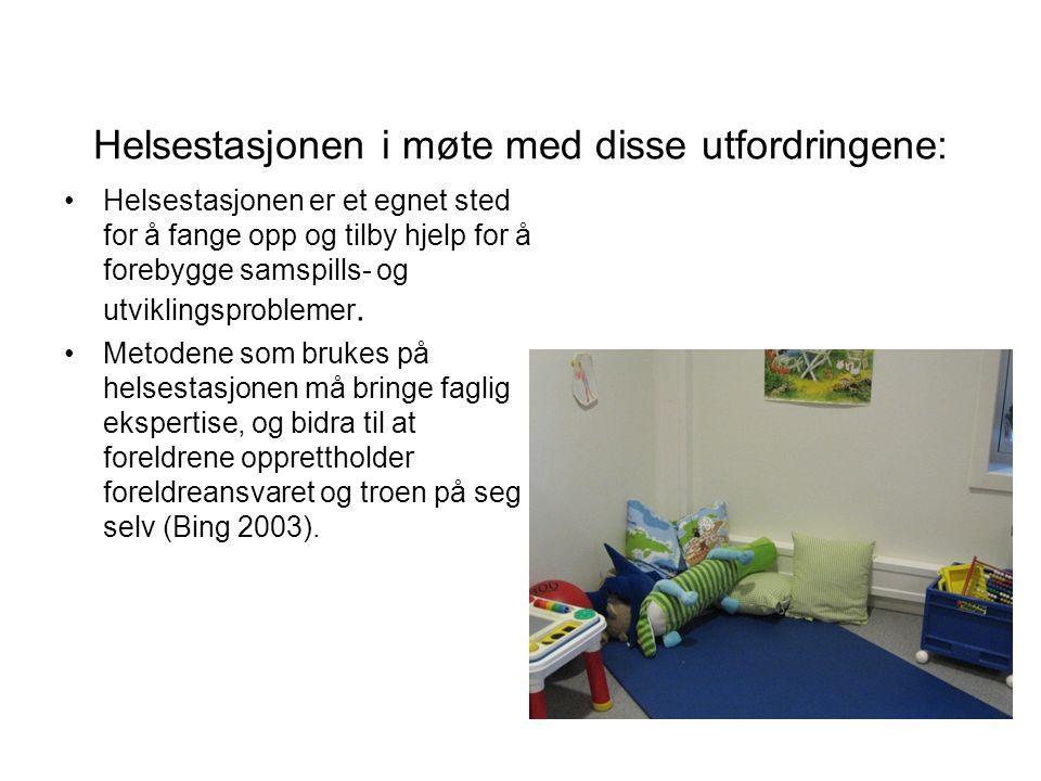 Helsestasjonen i møte med disse utfordringene:
